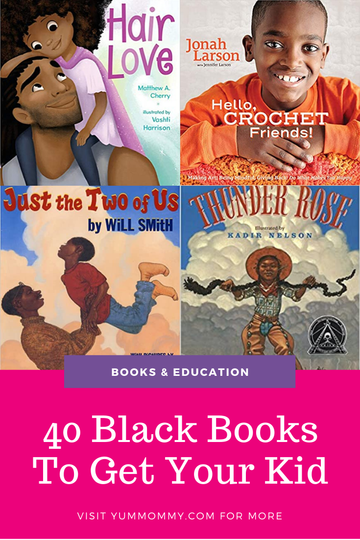40 Books To Buy To Add Black Representation To Your Child's Bookshelves